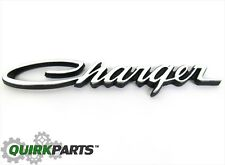 1971-1974 Dodge Charger Emblem Decal Nameplate MOPAR GENUINE OEM BRAND NEW