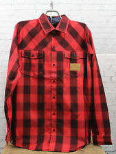 New Nitro Mens Cabin Jacket Large Red Plaid
