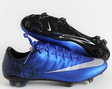 "NIKE MERCURIAL VAPOR X CR FG ""RONALDO"" DEEP ROYAL BLUE SZ 9.5 [684860-404]"