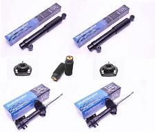 4 Gasdruck Stoßdämpfer VA/HA + Domlager Staubschutz Fiat Cinquecento Seicento