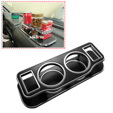 Car Plastic Double Hole Cup Bottle Can Drink Bracket Holder Can Cup Holder Stand