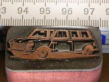 BRITISH LEYLAND MINI  schöner Oldtimer Stempel / Siegel aus Metall