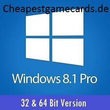 MS win 8.1 pro Microsoft windows 8.1 pro 1pc 32+64 Bits OEM clé de produit par e-mail