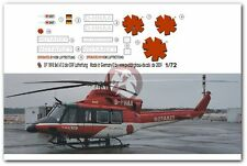 Peddinghaus 1/72 Bell 412HP German Rescue Helicopter Markings D-HHAA DRF EP1898