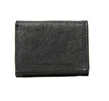 Brand New WeSC Payton Canvas Wallet Black Price £24.99