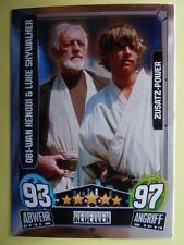 Force Attax Star Wars Serie 3 (2013 rot), Obi-Wan & Luke (197), Zusatz-Power