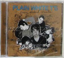 PLAIN WHITE T'S - EVERY SECOND COUNTS - CD Sigillato
