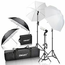 Lighting Emart 600W Photography Photo Video Portrait Studio Day Light Umbrella