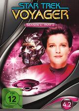 4 DVDs * STAR TREK - VOYAGER : STAFFEL 4.2 ~ DIGIPACK  # NEU OVP =