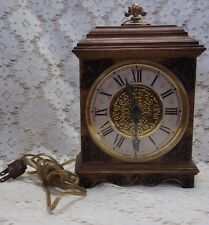VINTAGE SPARTUS Mantel or Wall Electric Clock  made in USA