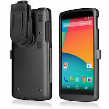 BoxWave Google Nexus 5 AluArmor Jacket - Aluminum Metal Case (Jet Black)