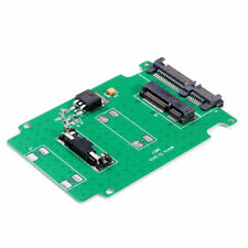 5cm mini PCI-e Msata SSD to 2.5 SATA 7+15 22 Pin ATA Adapter Card HDD Converter