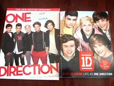 2 One Direction Books - 1D Dare to Dream & What Makes You Beautiful - Like New!