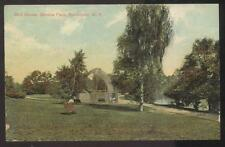 POSTCARD ROCHESTER NY/NEW YORK CITY SENECA PARK LARGE CAGE BIRD HOUSE 1907