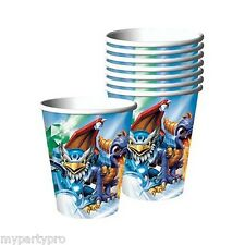 SKYLANDERS PAPER CUPS BIRTHDAY PARTY supplies FREE SHIPPING