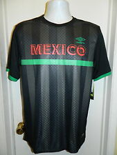 MEXICO NATIONAL TEAM NEW SOCCER FUTBOL JERSEY UMBRO WORLD CUP MENS SMALL