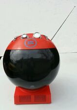 JVC 3240 VIDEOSPHERE GLOBE Red TV Weltron Astronaut Helmet Space Age 1972 & Box