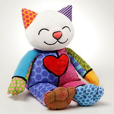 "ROMERO BRITTO - POP ART Peluche de Miami - ""COCO"" - Chat - Animal en"