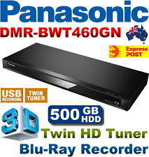 Panasonic DMR-BWT460GN 3D Blu-Ray DVD Recorder 500GB with Twin HD Tuner