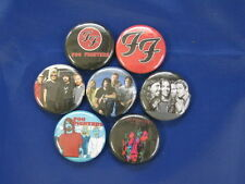 "FOO FIGHTERS 7 new Pinback Buttons 1"" Inch Diameter Music Band"