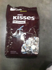 Hershey's Kisses Milk Chocolate 56 Oz Ounces Bulk Bag Fresh -  3.5 Lbs Pounds
