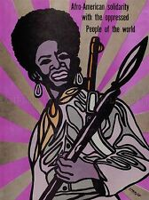 PROPAGANDA AFRICAN AMERICAN OPPRESSION LARGE POSTER ART PRINT BB2306A