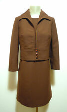 CULT VINTAGE '60 2pc. Abito Completo Donna Woman Tailleur Dress Suit Sz.M - 44
