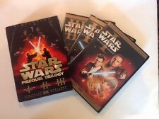 Star Wars Prequel Trilogy (DVD,2008,6-Disc,Widescreen) Authentic US Release