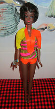1970 VTG. Mod Barbie~TALKING *CHRISTIE* DOLL~MINT DOLL+OUTFIT~OSS~WRIST TAG~MUTE