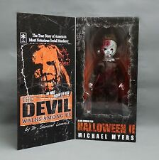 #s1~ Living Dead Dolls Presents Rob Zombie Halloween 2 Michael Myers action figu
