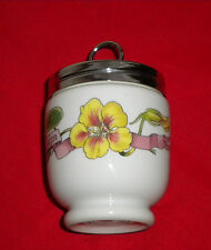 "KING EGG CODDLER, ""COUNTRY KITCHEN""~ROYAL WORCESTER,RUBBER-LIKE THREADS ON JAR"