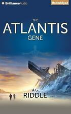 The Origin Mystery: The Atlantis Gene : A Thriller 1 by A. G. Riddle (2014,...