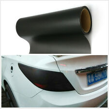 Scrub Black Polymer PVC Car SUV Tail Lights Vinyl Film Sticker Wrap For Mahindra