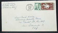 Pony Express postal Stationery us cover Pray for Peace 4c GS EE. UU. carta (h-10881