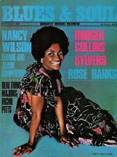 Nancy Wilson Blues & Soul Issue 197 1976 The Sylvers  Rose Banks  Rodger Collins