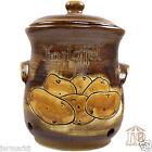 KARTOFFELTOPF m. Deckel & Löchern - Vorratstopf 2,5 L - Kartoffel-Topf Keramik
