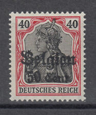 Deutsche Besetzungsausgaben 1914/1918 Belgien 20 b I ** postfrisch geprüft