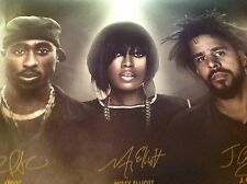 2Pac , Missy Elliott , J. Cole New Poster , Sprite Sip On Some Inspiration