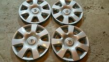 "Set of 4 Toyota Camry 15"" Hubcaps Wheel Covers 61115 2002 2003 2004"