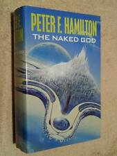 Peter F Hamilton SIGNED & DATED The Naked God 1st Edn UKHC