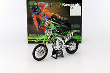 New-Ray Toys kawasaki KX450F Bud racing motocross GP model  1/12 Scale