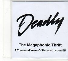 (FU854) The Megaphonic Thrift, A Thousand Years of Deconstruction EP- 2009 DJ CD