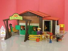 Playmobil western Granja Rancho de ponis ref 3775 año 1993 válido para Oeste