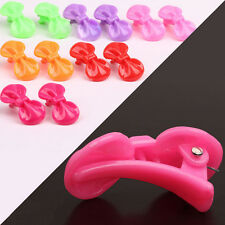 Random 10 Pcs Bow Hairpin Resin Candy  Color Hair Clips Baby Kids Girls