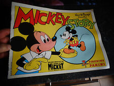 Album d'Images Figurines Panini Mickey Story 1978 presque vide 51/360