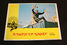 1968 A Twist of Sand Lobby Card 68/294 #4 Honor Blackman (C-7)