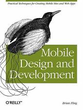 Mobile Design and Development: Practical concepts and techniques for creating mo