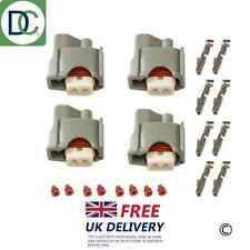 4 x Injector Connector Plug for Denso Injectors in Toyota Celica 1.8 (1ZZ)