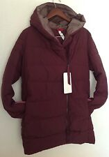 LULULEMON Puffy Blanket Jacket Down Bordeaux Drama Puffy Coat Sz 12 NWT WARM!