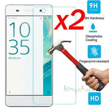 2Pcs 9H Premium Tempered Glass Screen Protector Film Guard For Sony Xperia XA